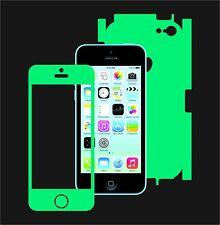 Glow in the Dark Skin Protector,Full Body Vinyl Decal Case Wrap, Apple Iphone 5C
