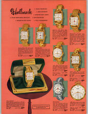 1951 PAPER AD 4 PG Hallmark Wrist Watch Prince Men's Ladies'