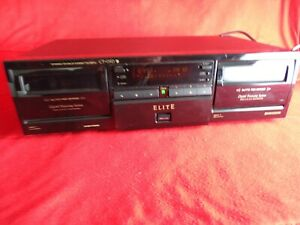 PIONEER ELITE CT-050 STEREO DOUBLE CASSETTE DECK
