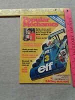 Popular Mechanics Magazine January 1977 Racing Machine Bruce Jenner Gym