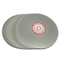 """Grit 240 Diamantbeschichtete 6 """"Zoll-Flach Lap Rad Schmuck Schleifen Sand disk"""