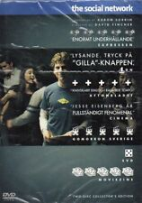The Social Network - DVD - Region 2 - Nordic - New & Sealed