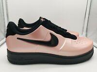 932cae6dac6f4 Nike Air Force 1 Foamposite Pro Cup UK 12 Coral Stardust Black AJ3664-600