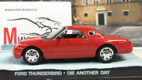 Scale model car 1:43 Ford Thunderbird, Die Another Day