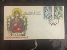 1954 Dublin Ireland First Day Cover FDC The Marian Year