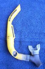Scuba Snorkel Us Divers Yellow Contoured dive diving diver snorkeling