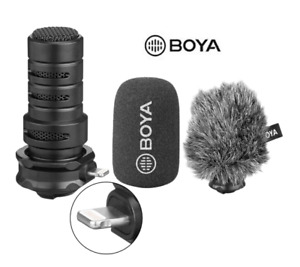 BOYA BY-DM200 Digital Stereo Cardioid Condenser Microphone For iPhone