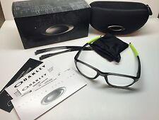 Oakley Crosslink Strike Grey Smoke Frames Rx Eyeglasses OX8048-0254 W/Case 54/18
