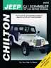 Jeep CJ Scrambler 1971-1986 New Chilton Workshop Manual Service Repair