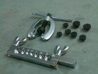 Pipe Flaring Tool Garage Workshop Brake Fuel Petrol Diesel Metal Copper Alloy