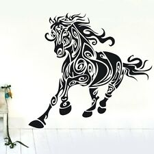 One Horse Abstract Wall Decor Removable Home Vinyl Decal Sticker Art DIY Mural