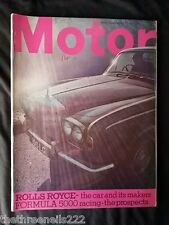MOTOR MAGAZINE - ROLLS ROYCE - MARCH 1 1969