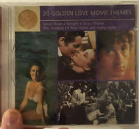20 Golden Love Movie Themes - CD Compilation Album - 1988 Mint Same Day Post