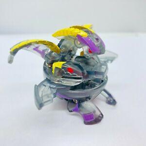 Bakugan Darkus Percival 600G BakuLyte Translucent Clear New Vestroia