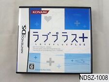 Love Plus + (2) Nintendo DS Japanese Import NDS Japan Plus+ US Seller A/VeryGood