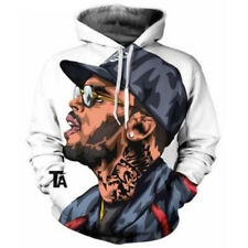 New Fashion Women Men Chris Brown 3D Print Casual  Hoodies Sweatshirt Pullover