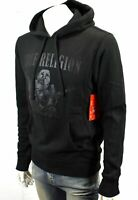 TRUE RELIGION Men's Tonal Buddha Pullover Sweatshirt Hoodie - 101739