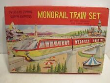 DISNEYLAND TYPE MONRAIL BATTERY OPERATED MINT IN BOX CONDITION
