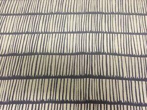 Christopher farr Crochet Fabric 1 yard linen/Indigo