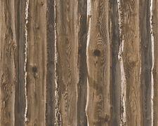 Papel papel pintado Dekora naturaleza 6 as 95837-1 madera natural bretterwand marrón beige
