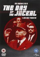 DAY of the JACKAL (Edward FOX Terence ALEXANDER Michel AUCLAIR) ACTION Film DVD