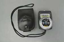 Gossen Luna-Pro Analog light Meter Exposure Meter with Case Used