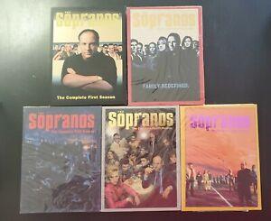 Sopranos DVD Set -  Seasons 1 thru 5  Seasons 2, 3, 4 and 5 are New & Sealed HBO