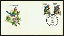 Missouri-Eastern Bluebird & Red Hawthorn, HF-Sealed Flap **ANY 4=FREE SHIPPING**