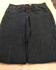 "Women's GAP REAL STRAIGHT jeans size 12 Regular 30"" inseam stretch"