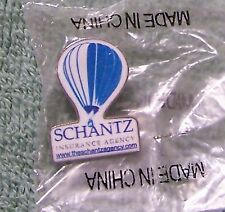 SCHANTZ INSURANCE AGENCY WWW.THE SCHANTZAGENCY.COM BALLOON PIN