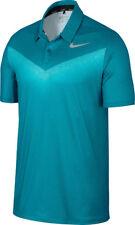 ☆☆Brand New☆☆ Nike Golf Men Dry Chevron Print Golf Polo Blustery 854264-467 Sz S