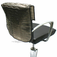"HAIR TOOLS 20"" Semi Opaque Waved Slip On Salon Back Chair Cover Protector"