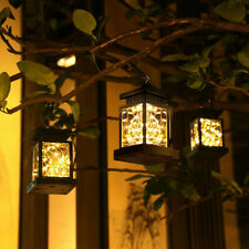 Solar Lantern Hanging Light Led Yard Outdoor Patio Garden Yard Lamp Waterproof