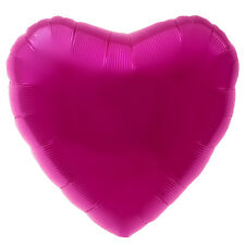 "18"" Heart Shaped Balloons Birthday Valentines Day Decorations Helium Foil Baloon"