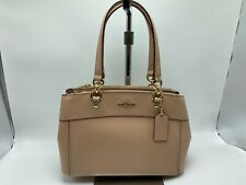 NWT Coach F31251 Mini Brooke Carryall Satchel Handbag Nude Pink