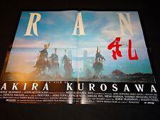RAN akira kurosawa  !  affiche cinema samourai