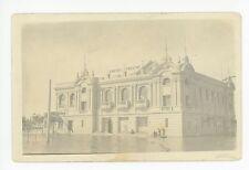"""Empire Theater"" RPPC Flood-Disaster Antique Photo ca. 1910s"