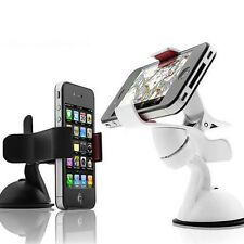 VibeTech 360° Universal FlexAngle Phone Mount Holder Black White Smartphone