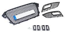 Für Audi A4 B8 Facelift Kühlergrill Wabengitter  + Gitter Stoßstange +Simple Fix