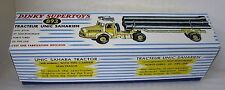 Repro Box Dinky Nr.893 Tracteur Unic Saharien