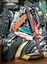 5 Folding knives grab bag S&W Gerber Buck Remington Multi tool TSA confiscated