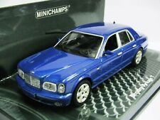 WOW EXTREMELY RARE Bentley Arnage T S1 BL 6.75 32V 2003 Blue 1:43 Minichamps/GT