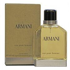 Giorgio Armani Eau Pour Homme Eau de Toilette 100ml Spray *NEW, BOXED & SEALED *
