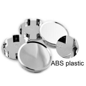 4pcs 51mm/45mm  Wheel Center Caps Silver for S Class A3 A4 A5 A6  Malibu 2016