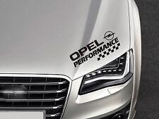 Performance Aufkleber passt Opel Astra Corsa Insignia Vectra Omega Emblem Logo S