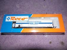WAGON MARCHANDISE TRANSTHERMOS NEM ROCO HO coach waggon + boite box 46403  R53