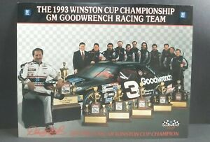 #3 Dale Earnhardt Sr. 1993 SIX 6x NASCAR Winston Cup Series Champion Photo