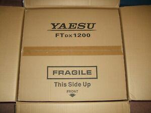 NOS NIB SEALED YAESU FTdx-1200 AMATEUR RADIO TRANSCEIVER w/ OPTIONAL FFT-1 BOARD