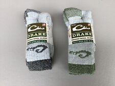 NWT Boys Youth Drake Merino Wool Socks 4 Pair Shoe 12-3.5 Multi #1208L
