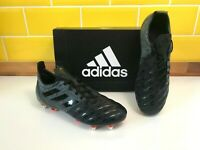 Adidas Malice Soft Ground Mens Rugby Boots Black F36355  - Brand New